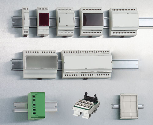 RAILTEC C DIN rail enclosures