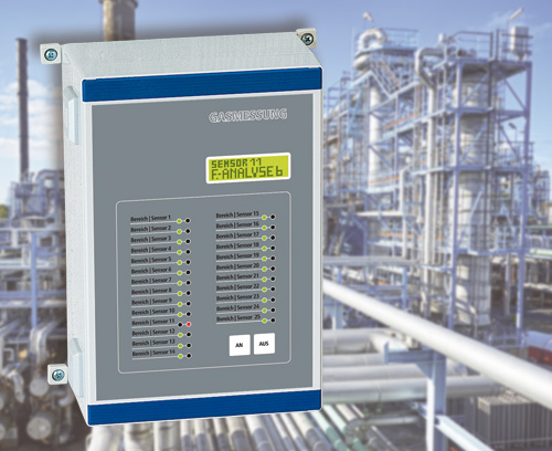 Stationary gas detection system