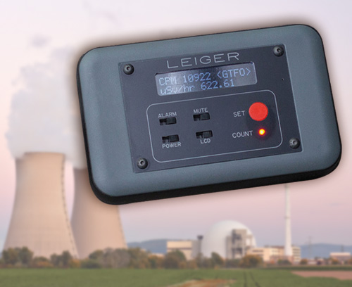 Geiger counter with logging function