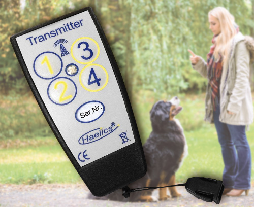 Remote trainer for dog training